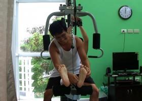Ticklish Gym Buddy