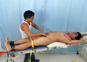 Tickle That Chubby Asian Boy