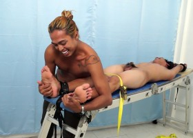 Jojo On The Tickle Rack