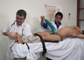 Doctor Tickles Argie