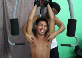 Josh's Ticklish Workout
