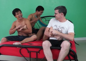 T-Boy Tied And Tickled