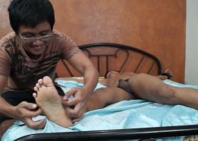 Ticklish Str8 Boy Marco