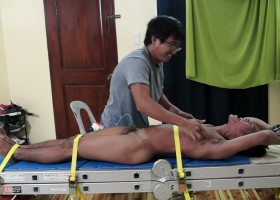 Hot Niko Tied And Tickled