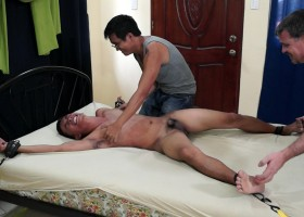 Hot Diego Tied And Tickled