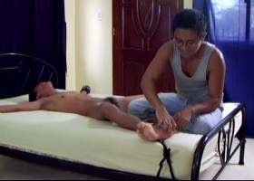 Benjamin Tickled Naked