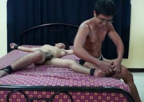 Taking Turns Tickling Dave