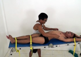 Lance Racked And Tickled