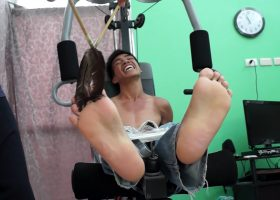 Argie Tickled On The Gym