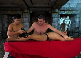 Nathan Tickled in the Dungeon