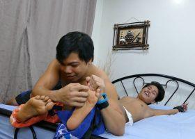 Tickle Boy Russel