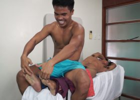 Ticklish Kenny Cruz