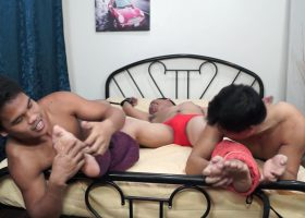 Sexy CJ Tied and Tickled