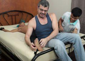 Tickling Alex To Cum