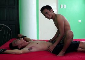 Argie Tickled and Milked