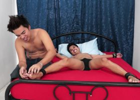 Danilo and Ricky Tickle Gilbert