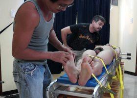 Vahn Gets Tickle Interrogation