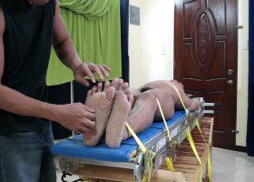 Lorenzo Has Big Ticklish Feet