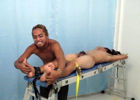 Hunter Tickles Jojo