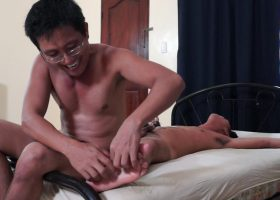 Coco Gets A Boner When Tickled