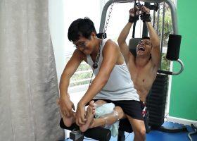 Vahn's Ticklish Training