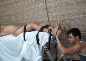 Vahn Tickles Jordan on the Rack