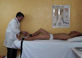 Vahn Visits Tickle Crazy Doctor