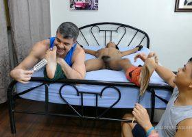Daddy and Vahn Tickle Clark