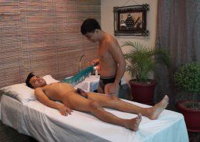Gilbert Gets A Tickle Massage
